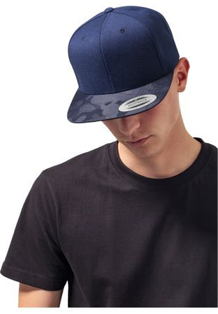 Flexfit Camo Visor Snapback Cap in 4 Styles – Bild 6