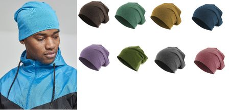 Masterdis Heather Jersey Beanies in 8 Farben – Bild 1