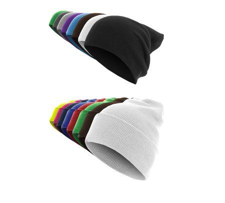 Masterdis  Basic Flap Beanie  / Wintermütze in 21 Farben – Bild 1