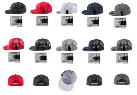 Masterdis Moneyclip Snapback Trucker Cap 2 Styles in 5 Farben – Bild 1
