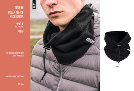 Urban Classics Polar Fleece Neck Gaiter – Bild 1