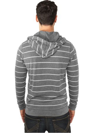 Urban Classics Striped Burnout Hoody in 3 Farben von S-2XL – Bild 3