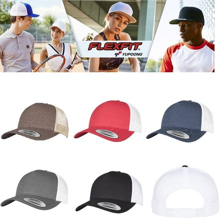 Flexfit / Yupoong 5-Panel Retro Trucker 2 Tone Cap in 5 Farben – Bild 1