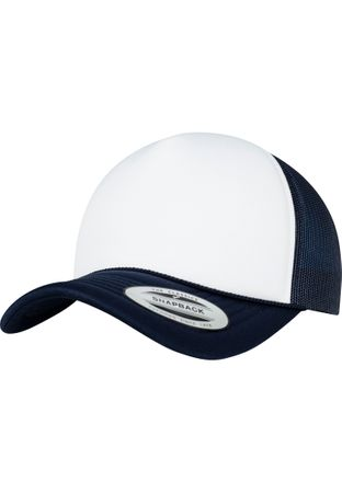 Flexfit Foam Trucker Cap Curved Visor in 17 Farben – Bild 9