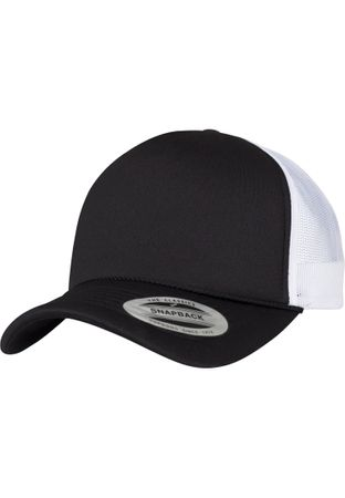 Flexfit Foam Trucker Cap Curved Visor in 17 Farben – Bild 4