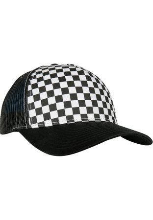 Flexfit Checkerboard Retro Trucker in 2 Farben – Bild 7