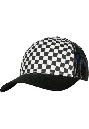 Flexfit Checkerboard Retro Trucker in 2 Farben – Bild 6