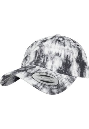 Flexfit Low Profile Tie Dye Cap in grau