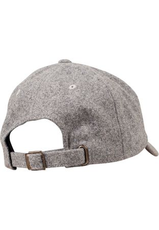Flexfit Low Profile Melton Wool Dad Cap in 3 Farben – Bild 3