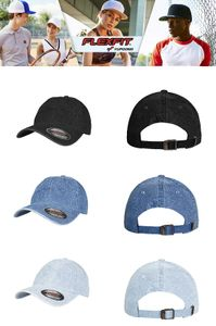 Flexfit Low Profile Denim Cap in 3 Farben 001