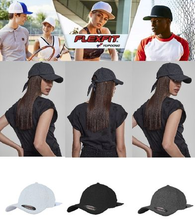 Flexfit Satin Bow Dad Cap in 3 Farben – Bild 1