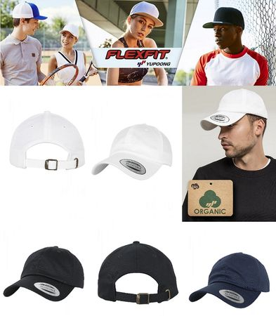 Flexfit Low Profile Organic Cotton Cap in 3 Farben – Bild 1