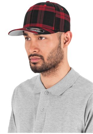 Flexfit Tartan Plaid Cap S/M & L/XL in 2 Farben – Bild 4