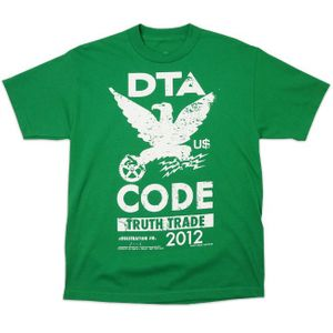 DTA / Rogue Status Herren T-Shirt Code Tee in kelly von M-XL 001