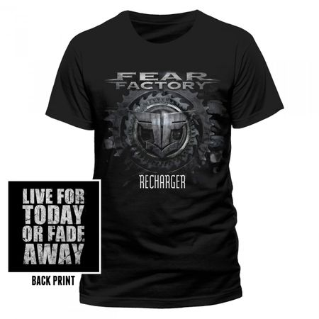 Fear Factory Industrialist T-Shirt in schwarz von S-2XL