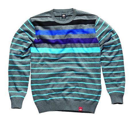 Dickies Sweatshirt Randall Strickpullover grau in XS und S