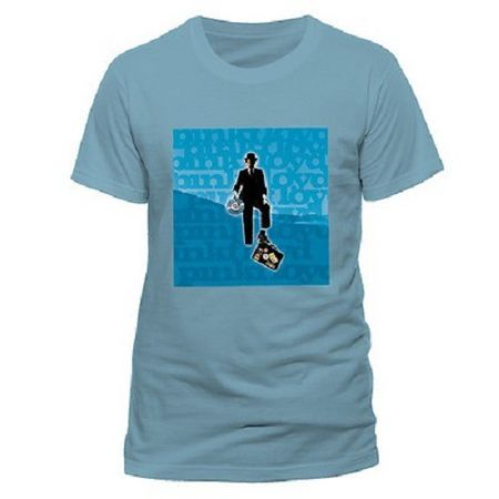 Pink Floyd Herren Fan T-Shirt Invisible Man Blue in S-2XL