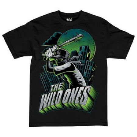 The Wild Ones T-Shirt Batter Up schwarz von L-2XL