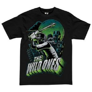 The Wild Ones T-Shirt Batter Up schwarz von L-2XL 001