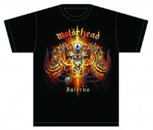 Motörhead Herren T-Shirt Inferno in S 001