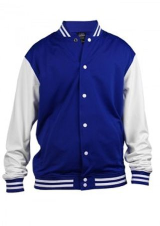 Urban Classics College Trainingsjacke in royal von M-XL