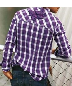 Tom Tailor Polo Hemd Karo Langarm Gr: S  001