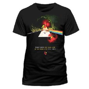 Pink Floyd Herren Fan T-Shirt Liquid Darkside von S-2XL 001