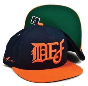 Flat Fitty Snapback Baseball Cap Modell DEF 001