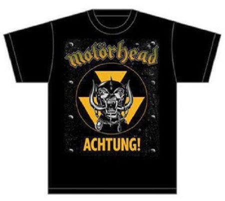Motörhead Herren Fan T-Shirt Achtung von S-2XL
