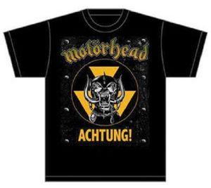 Motörhead Herren Fan T-Shirt Achtung von S-2XL 001