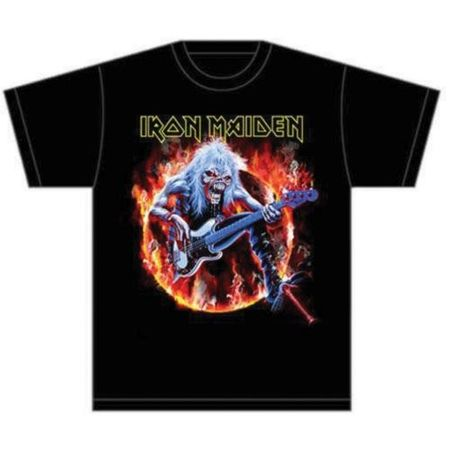 Iron Maiden Herren T-Shirt Fear Live Flames von S-2XL