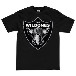 The Wild Ones Herren T-Shirt The Wild Nation, schwarz, M-3XL 001