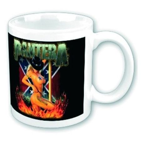 Pantera Pool Dancer Boxed Keramik Kaffeetasse
