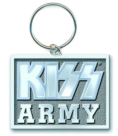 Kiss Merchandise Schlüsselanhänger Army Block