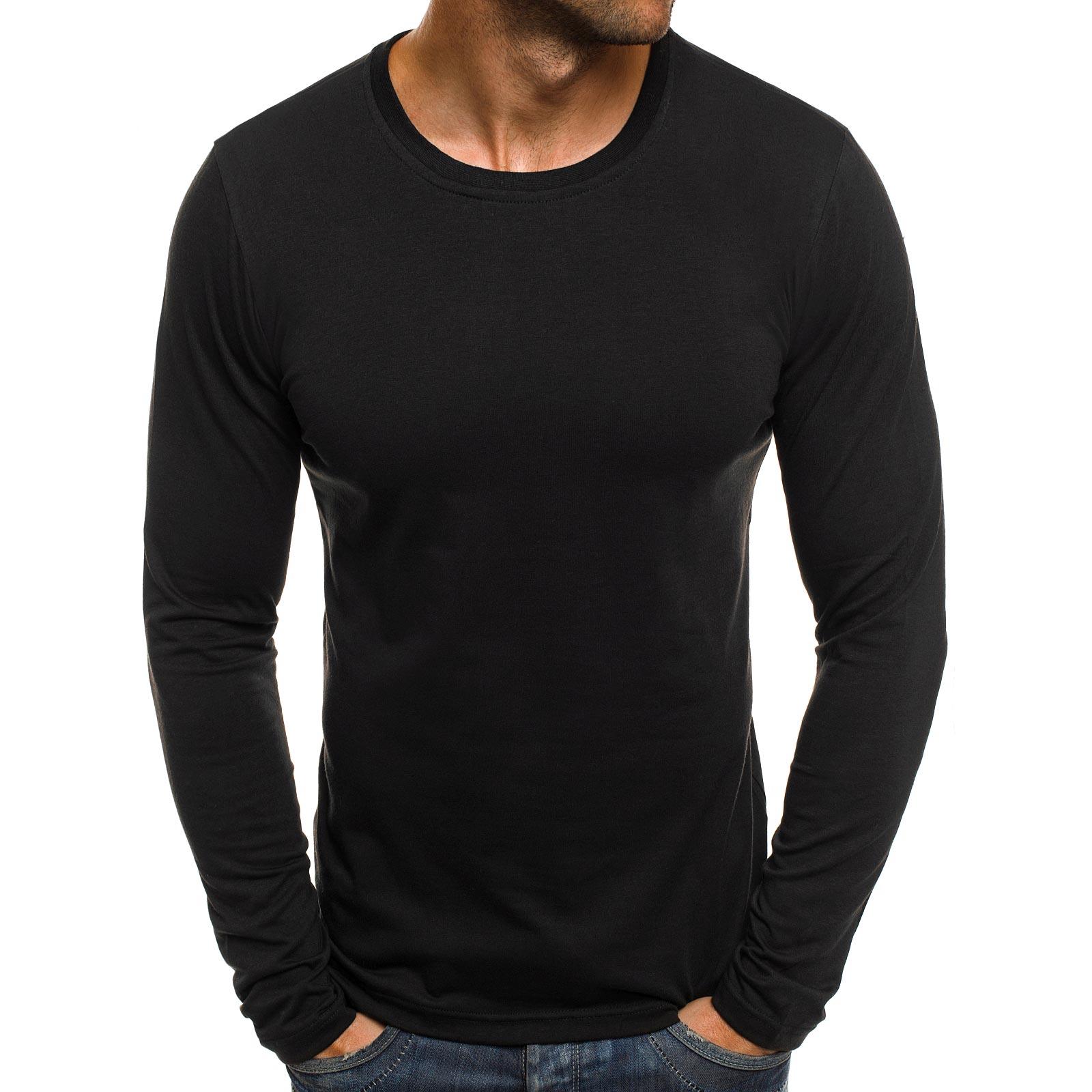 OZONEE-J-STYLE-2088-Herren-Longsleeve-Klassiker-Langarm-Shirt-Sweatshirt-MIX