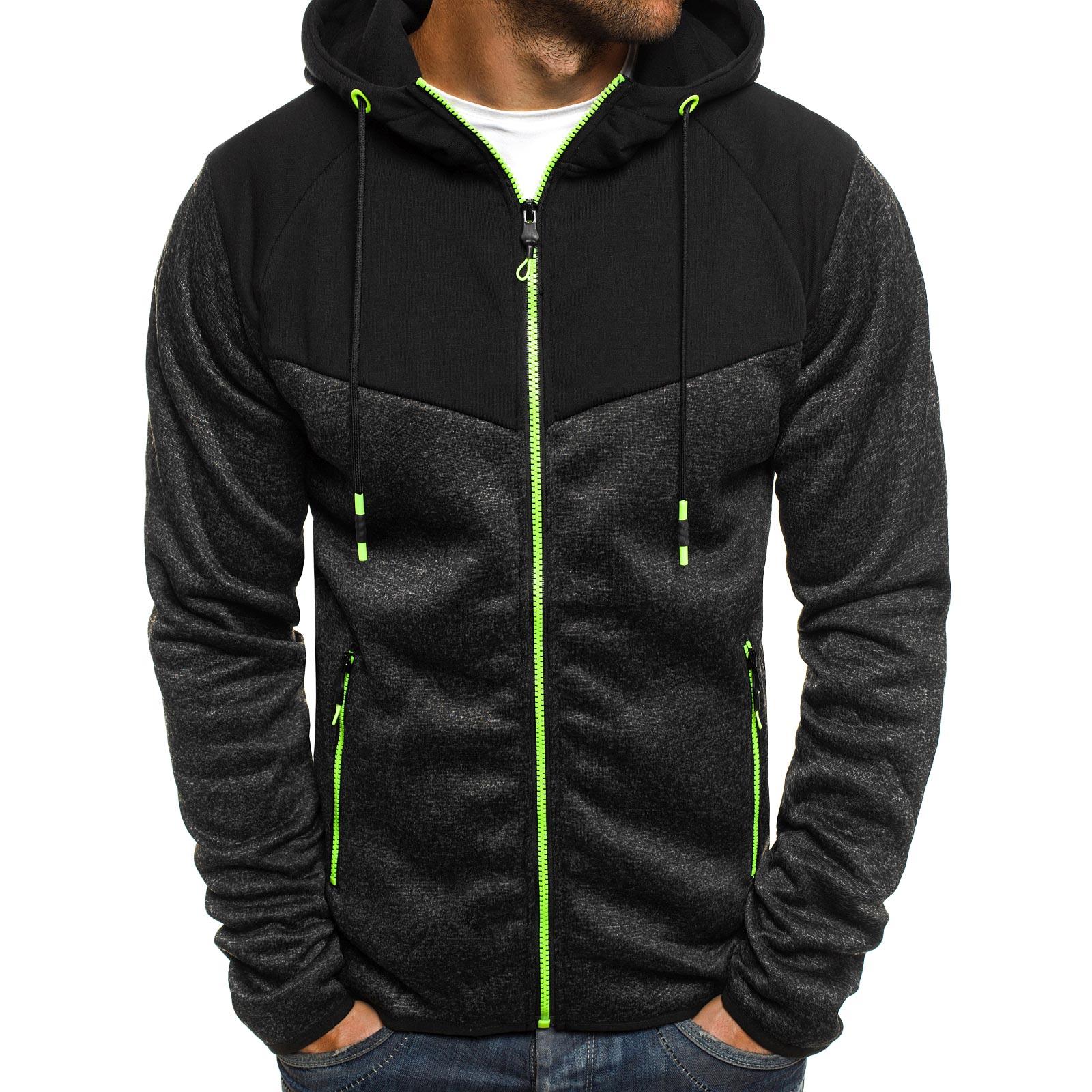 OZONEE-J-STYLE-Herren-Kapuzenpullover-Sweatshirt-Pullover-Kapuze-Sweatjacke-MIX