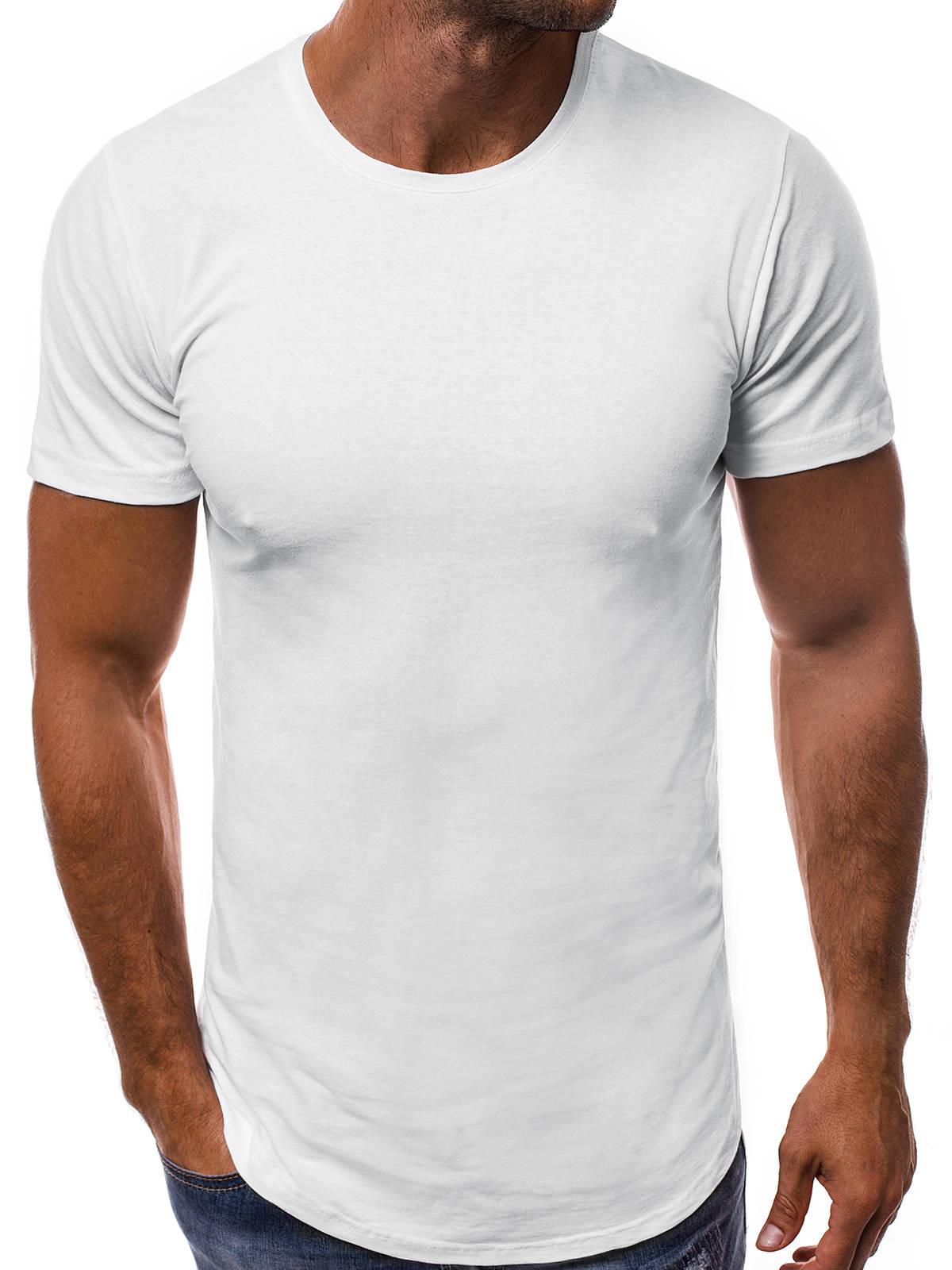 OZONEE-Herren-T-Shirt-Kurzarm-Shirt-Rundhals-Slim-Fit-Brusttasche-Basic-7424-MIX