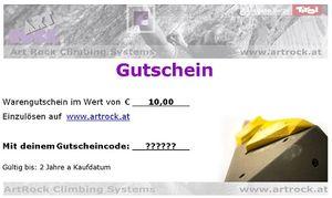 ArtRock Geschenkgutschein