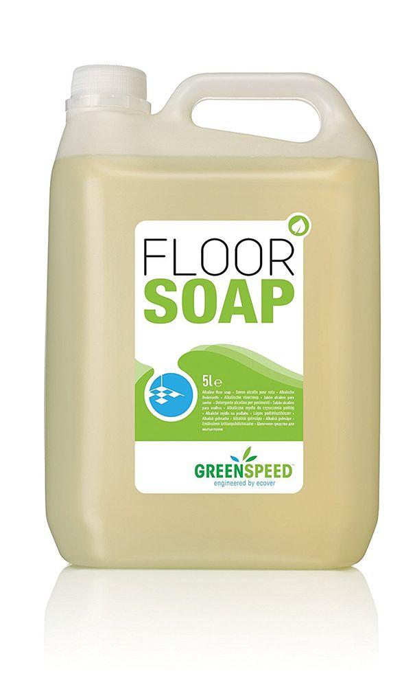 GREENSPEED engineered by ECOVER - Floorsoap / Bodenreiniger - 5 Liter