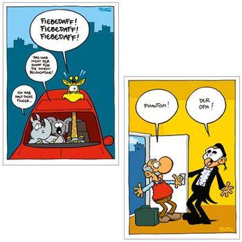 Postkarten A6 +++ MIX SET Nr. 2 +++ 10 lustige RALPH RUTHE-Cartoons – Bild 6