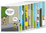 Postkarten A6 +++ MIX SET Nr. 2 +++ 10 lustige RALPH RUTHE-Cartoons