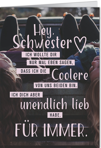 sprüche schwester Postkarten Online Shop | Lustig – Sprüche – Mann/Frau – Büro – Cartoon sprüche schwester