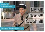 Postkarte A6 +++ LUSTIG +++ GEBURTSTAG NEIN!!! DOCH!!! OOOHH!!! - 86661193