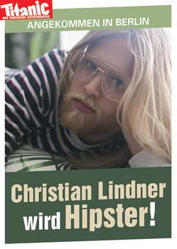 Postkarte A6 +++ TITANIC +++ CHRISTIAN LINDNER IN BERLIN 201710 - 92338939