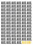 Postkarte A6 +++ LUSTIG +++ ALLES ALLES ALLES LIEBE