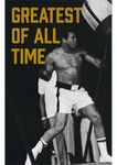 Magnet 8,5x5,5 cm +++ LUSTIG +++ MUHAMMAD ALI GREATEST OF ALL TIME - MAGNETE