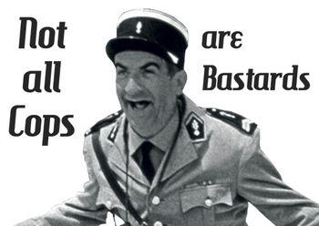 Postkarte A6 +++ LUSTIG +++ NOT ALL COPS ARE BASTARDS - 85887561