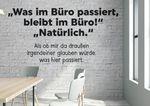 Postkarte A6 +++ LUSTIG +++ WAS IM BÜRO PASSIERT