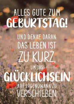 Postkarte A6 +++ LUSTIG +++ ALLES GUTE ZUM GEBURTSTAG