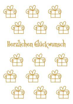 Postkarte A6 +++ LUSTIG +++ HERZLICHEN GLÜCKWUNSCH GESCHENKE